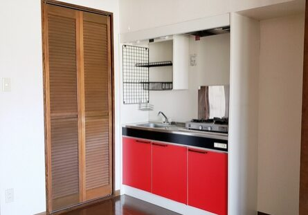 扉付き選択置き場 キッチン